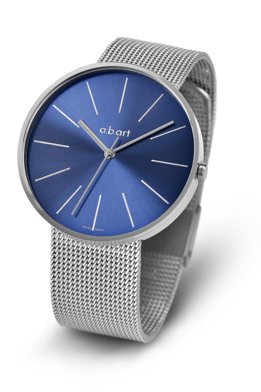 52b951a23d4 Dámské hodinky a.b.art DL104s - modré