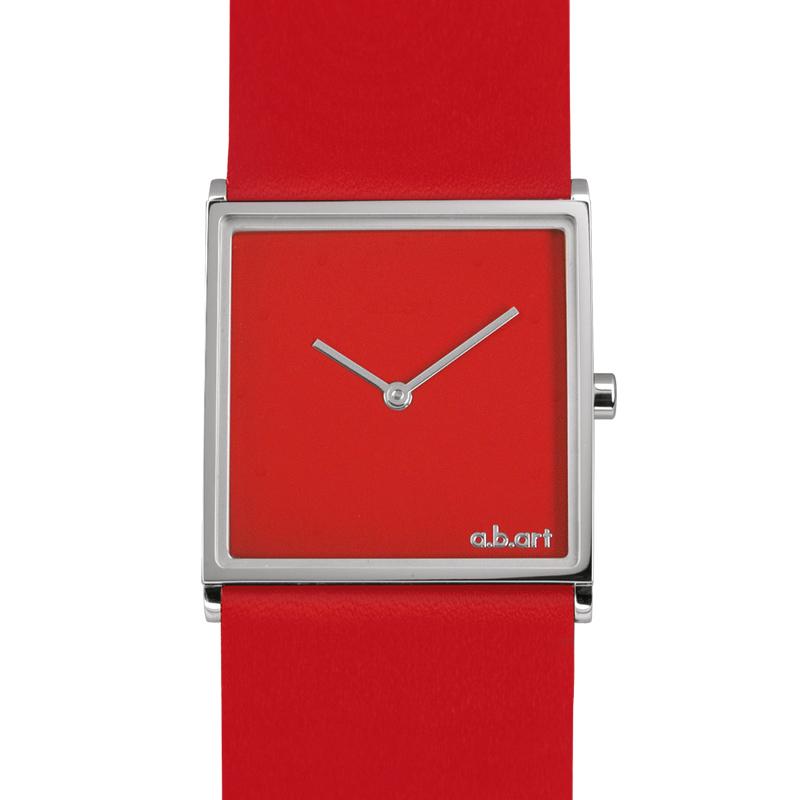 22d0d5067 Dámské hodinky a.b.art E110 - červené | Emotio.cz - Exkluzivní ...