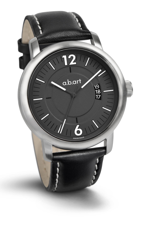 b83d57d7e7d obrázek Pánské automatické hodinky a.b.art MA104 - černé