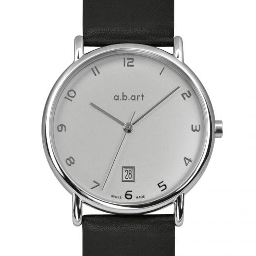 Pánské hodinky a.b.art KLD107 - stříbrné