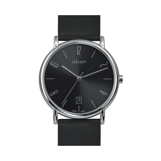 Pánské hodinky a.b.art KLD114 - černé