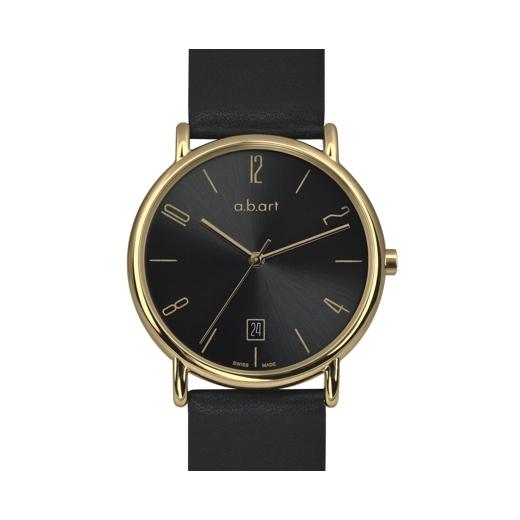 Unisex hodinky a.b.art KLD121 - černé