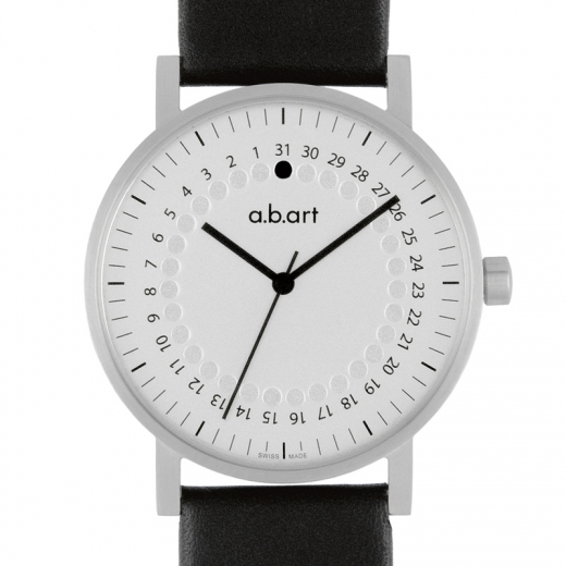 Pánské hodinky a.b.art O101 - stříbrné