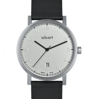 obrázek Pánské hodinky a.b.art O108 - stříbrné