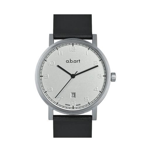 Pánské hodinky a.b.art O108 - stříbrné