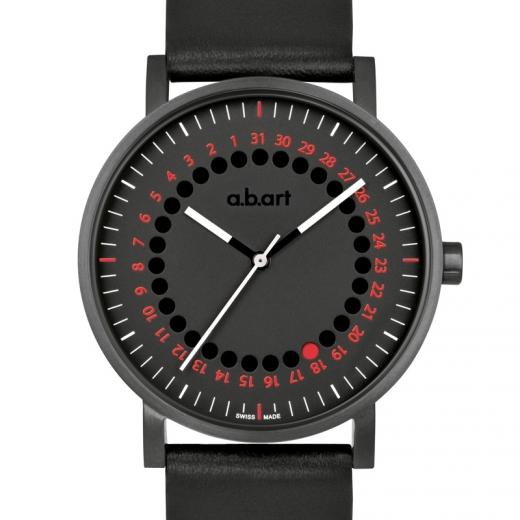 Pánské hodinky a.b.art O150 - černé