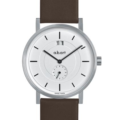 f8085d60502 Pánské hodinky a.b.art O601 - bílé