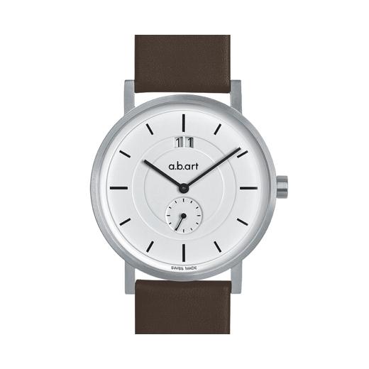 Pánské hodinky a.b.art O601 - bílé