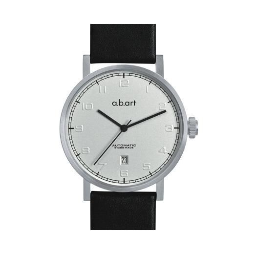 Pánské automatické hodinky a.b.art OA105 - stříbrné