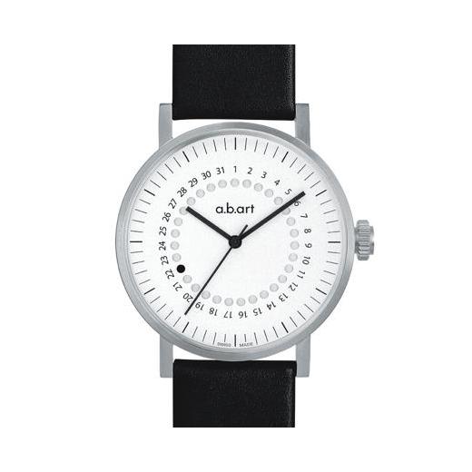 Pánské automatické hodinky a.b.art OA107 - bílé