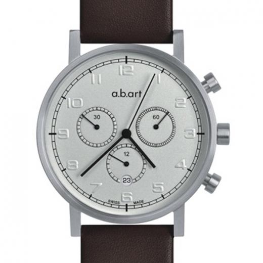 Pánské hodinky a.b.art OC105 - stříbrné