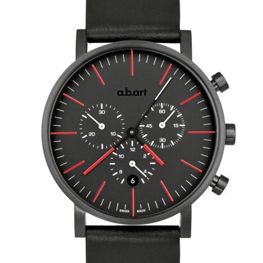 Pánské hodinky a.b.art OC150 - černé
