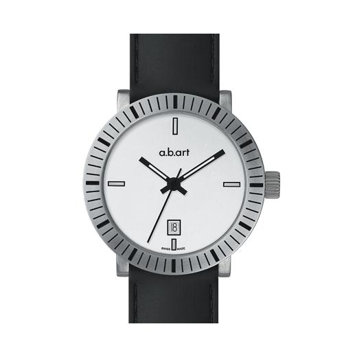 Pánské hodinky a.b.art W101 - bílé