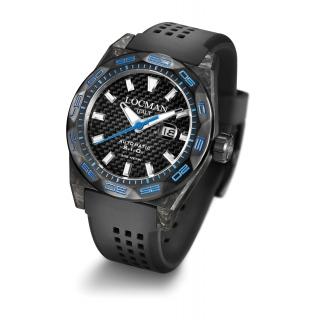 f7eee746349 obrázek Pánské hodinky Locman Stealth 300m Carbon - modré