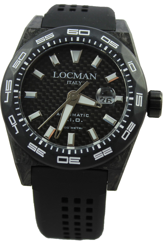 d8d320e5f16 obrázek Pánské hodinky Locman Stealth 300m Carbon - černé