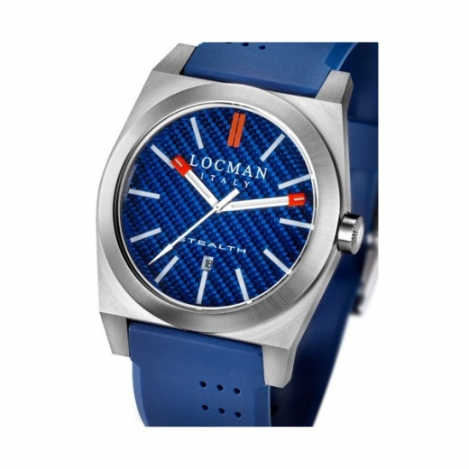 Pánské hodinky Locman Stealth - modré