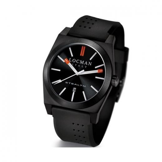 Pánské hodinky Locman Stealth - černé