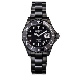 obrázek Pánské automatické hodinky Davosa Ternos Black