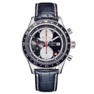 obrázek Pánské automatické hodinky Davosa World Traveller Chronograph