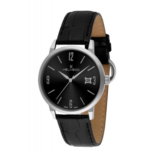 Pánské hodinky Helveco St.Gallen - černé db0879d86d