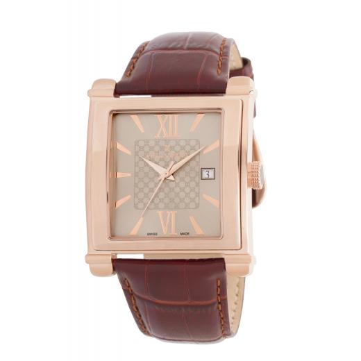 Pánské hodinky Helveco Delemont - zlaté
