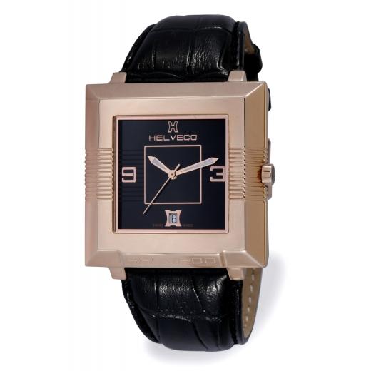 Pánské hodinky Helveco Pyramid - černé