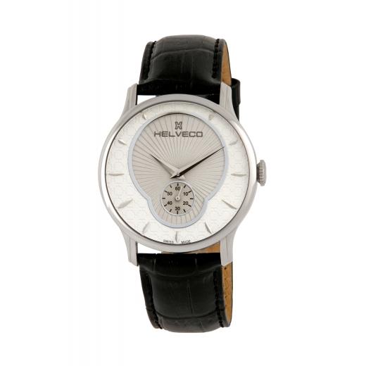 Pánské hodinky Helveco Montreux - stříbrné