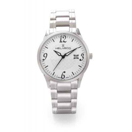Pánské hodinky Helveco Sentier - stříbrné