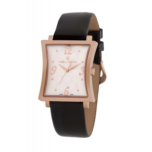 Dámské hodinky Helveco Bernina - zlaté