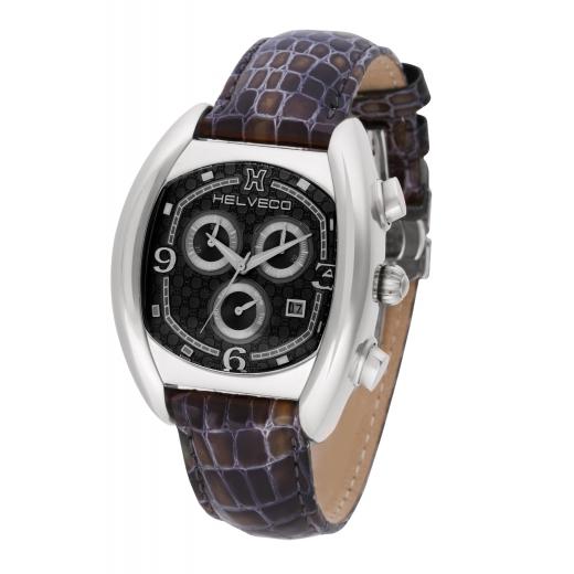 Pánské hodinky Helveco Ticino - černé