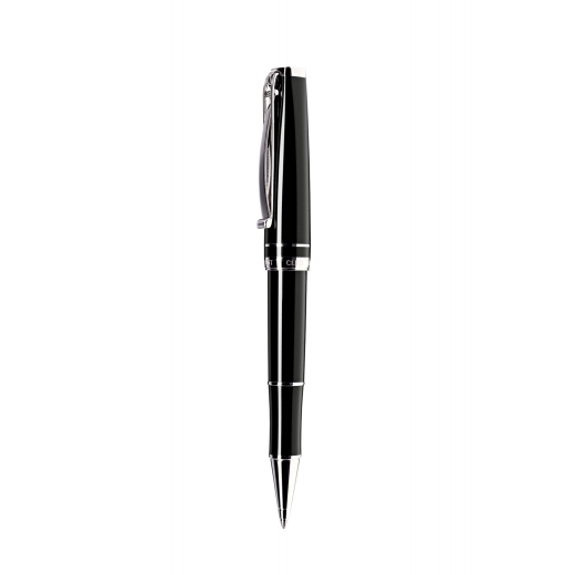 Kuličkové pero Cleo Skribent Platinum Black