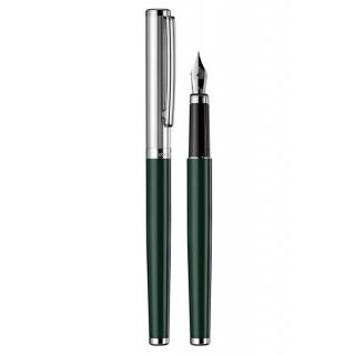 obrázek Plnící pero Otto Hutt Design 01 zelené - víčko jemný proužek