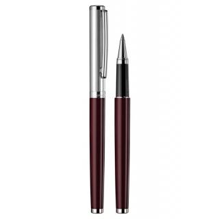 obrázek Keramické pero Otto Hutt Design 01 červené - víčko jemný proužek