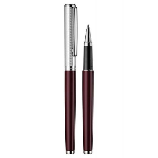 Keramické pero Otto Hutt Design 01 červené - víčko vlnka