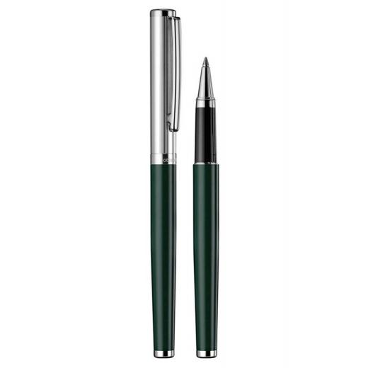 Keramické pero Otto Hutt Design 01 zelené - víčko jemný proužek