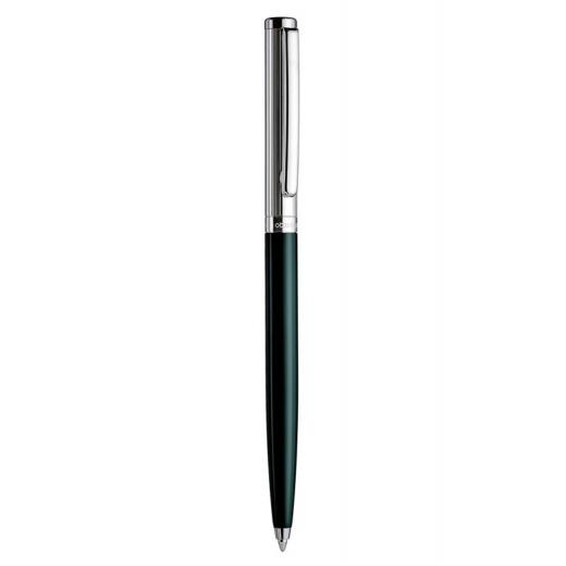 Kuličkové pero Otto Hutt Design 01 zelené - víčko jemný proužek