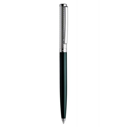 Kuličkové pero Otto Hutt Design 01 zelené - víčko vlnka