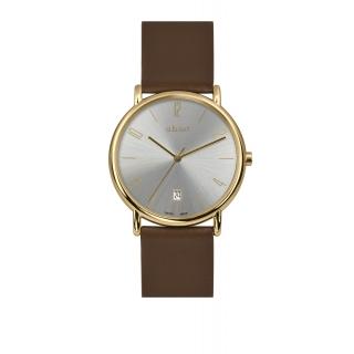 obrázek Unisex hodinky a.b.art KLD120b - stříbrné
