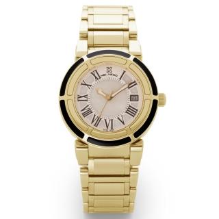 obrázek Dámské hodinky Helveco Wheel Crown - zlaté