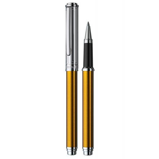 Keramické pero Otto Hutt Design 03 zlaté - víčko obdélník