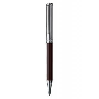 obrázek Kuličkové pero Otto Hutt Design 03 hnědé - víčko obdélník