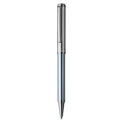 Kuličkové pero Otto Hutt Design 03 modré - víčko obdélník