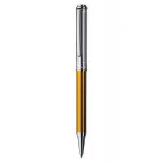 obrázek Kuličkové pero Otto Hutt Design 03 zlaté - víčko obdélník