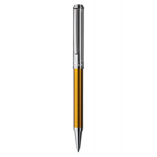 Kuličkové pero Otto Hutt Design 03 zlaté - víčko obdélník
