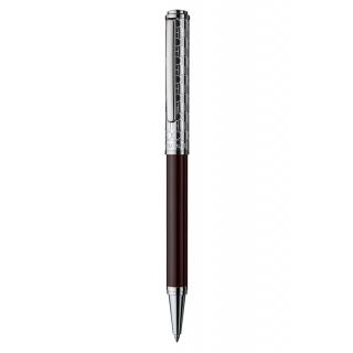 obrázek Kuličkové pero Otto Hutt Design 03 hnědé - víčko monogram