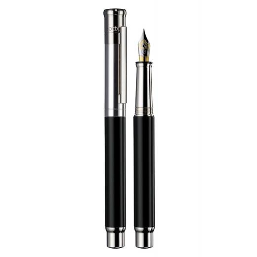 Plnící pero Otto Hutt Design 04 černé hladké