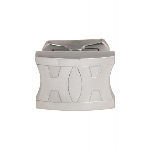 Manžetové knoflíčky Helveco 2H Collection - stříbrné
