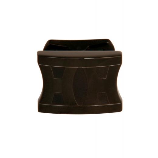Manžetové knoflíčky Helveco 2H Collection - černé