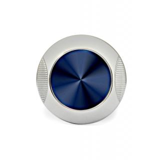 obrázek Manžetové knoflíčky Helveco Medallion - modro stříbrné