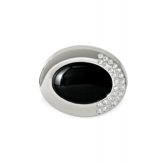 Manžetové knoflíčky Helveco Oval Collection - stříbrné